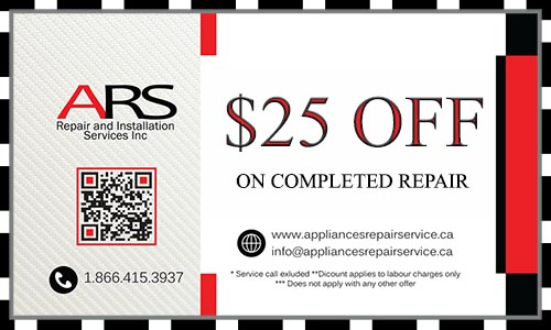 appliance repair coupon $25 off