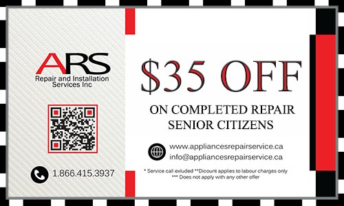 appliance repair coupon $35 off